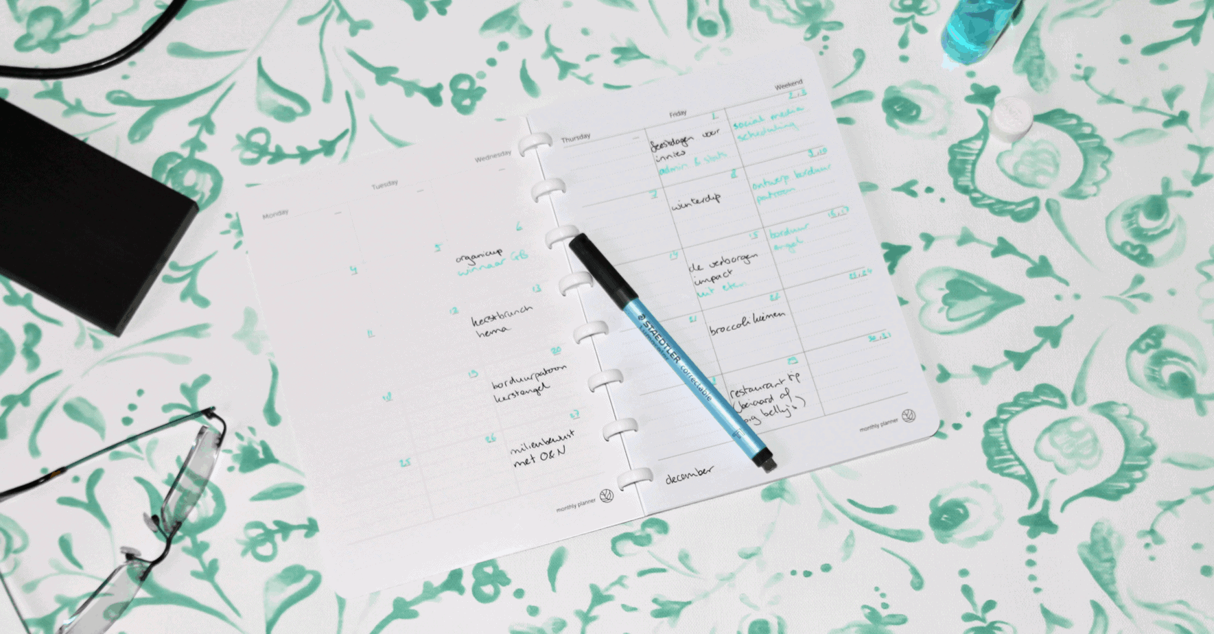 GreenBook blogplanner: editorial calendar